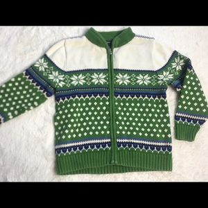 Lands' End children's unisex sweater, L, 6x, EUC